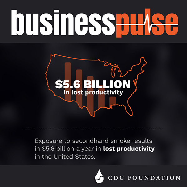 Business Pulse Tobacco Use Infographic