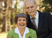 Dr. Gangarosa and his wife Rose