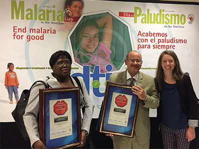 Haiti and the dominican republic honored as a malaria champion of 2017 malaria champions of the americas award publicscrutiny Images
