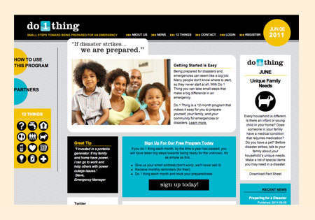 Do 1 Thing - website