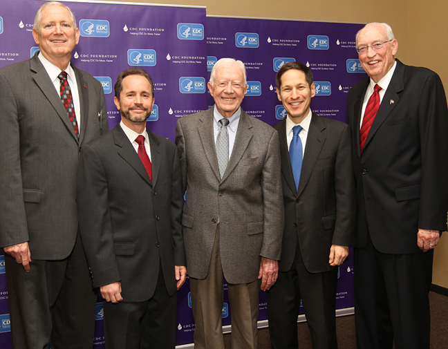 President Carter at CDC
